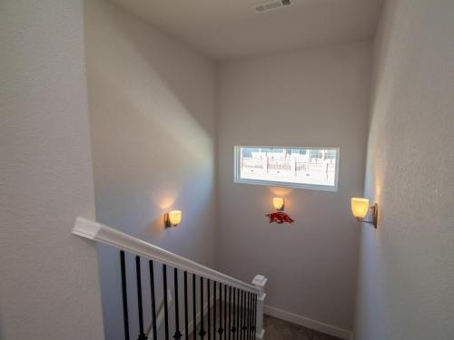 Staircase to Game Room