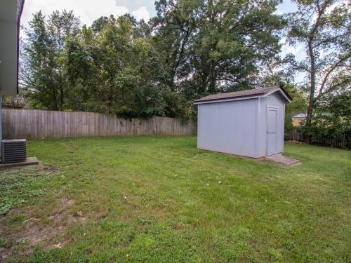 Large Backyard with Shed