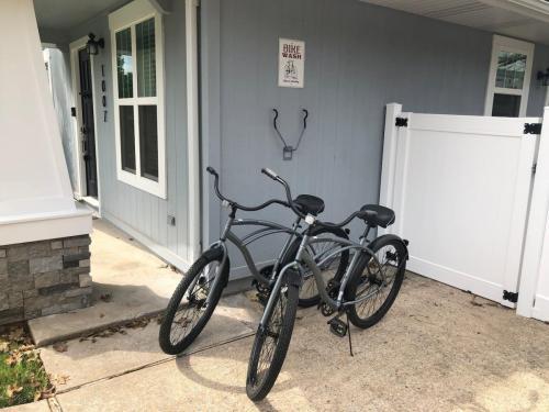 Bikes Provided and Bike Wash